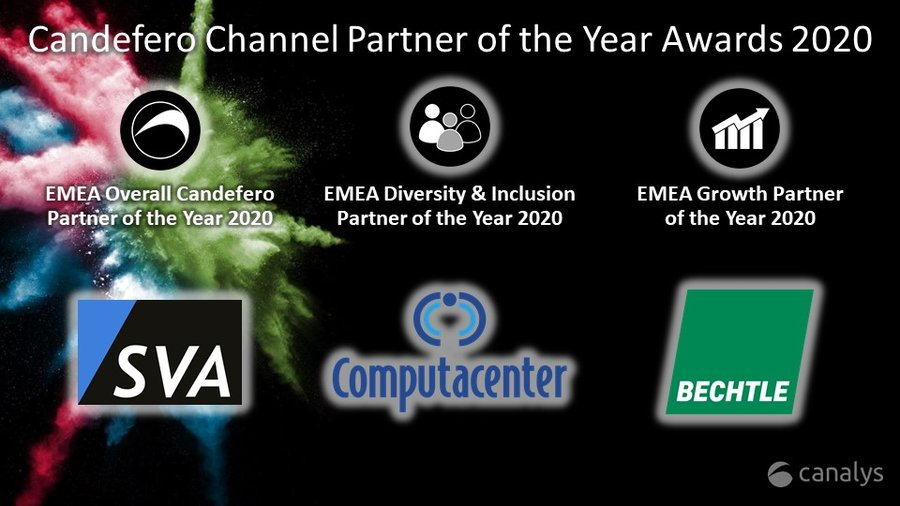 Candefero Channel Partner of the Year 2020