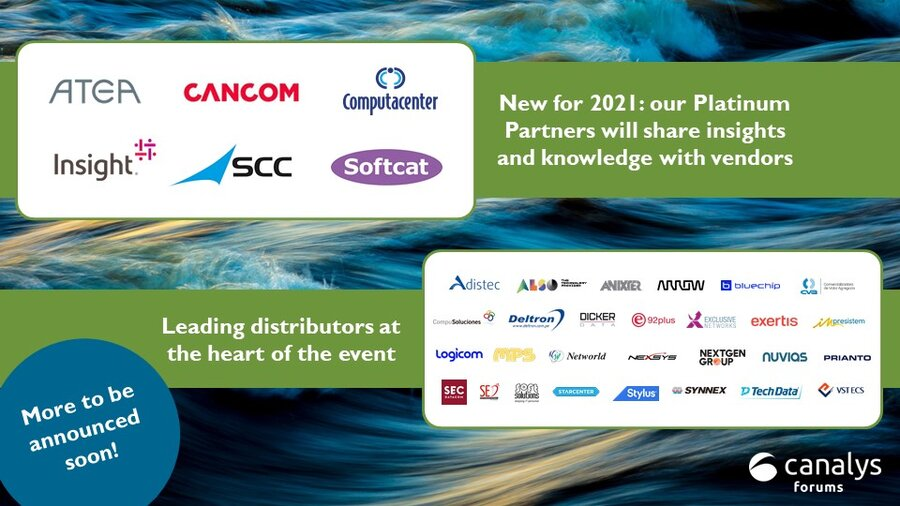 Canalys Forums July partners 2021